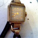 VINTAGE 1951 LADIES BULOVA COCKTAIL WATCH RUNS 4U2FIX