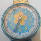 UNSUAL SWISS ETA QUARTZ FLIK FLAK FLOWER WATCH RUNS