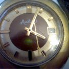 VINTAGE 17 JEWEL DATE AUSTIN WATCH RUNS 4U2FIX SEC HAND