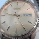 VINTAGE SEIKO 5Y23 DAY DATE QUARTZ WATCH RUNS WITH BAND