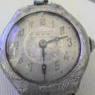 RARE VINTAGE UNIQUE WATCHFRED LADIES DECO WATCH RUNS