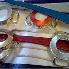 LOT OF 2 ALUMINUM TIMEX LADIES CAVATINA WATCHES IN BOX
