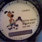 1994 50M CASIO WORLD CUP DUAL ANALOG LCD TIME WATCH RUN