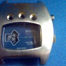 VINTAGE SICURA JUMP HOUR INSTALITE ELECTRIC WATCH RUNS