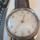 RARE 1931 VINTAGE 14KT GOLD HAMILTON WATCH 4U2FIX