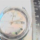 UNUSUAL DUAL 12-24HR DIAL DAY DATE ORION WINDUP WATCH