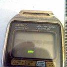 VINTAGE SEIKO MEMORY BANK LCD QUARTZ WATCH RUNS 4U2FIX