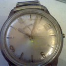 VINTAGE LUCIEN PICCARD DUFONTE DATE WINDUP WATCH 4U2FIX
