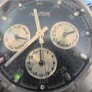 nautica double date quartz watch runs