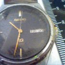 VINTAGE SEIKO 6923 DAY DATE QUARTZ STEEL WATCH 4U2FIX