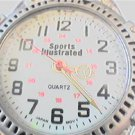 UNIQUE SPORTS ILLUSTRATED 12-24HR DIAL QUARTZ WATCH
