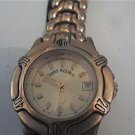 METAL LEATHER BAND ANNE KLEIN DATE LADY WATCH 4U2FIX