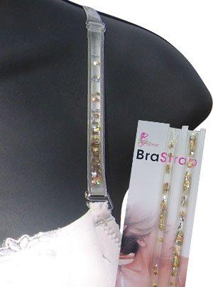Bra Oil Straps- Moon/Stars Glitter - BS2054