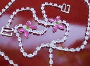 Butterfly Rhinestone Straps - BS2065