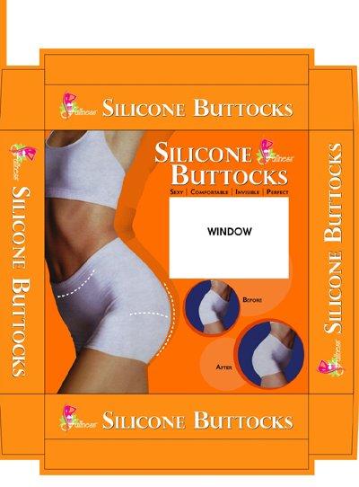 Silicone Buttock Enhancer - BS-7010