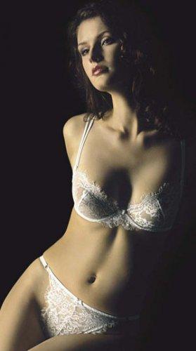 CHRISTINA- high cut lace thong