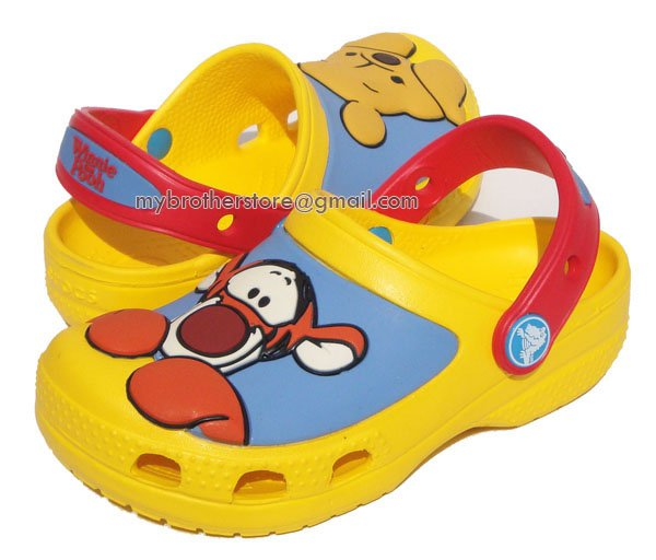 Kids Boys Girls Winnie the Pooh & Tigger Yellow Sandals Shoes US Size 6c7 8c9 10c11 12c13