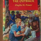 NURSING IN THE OUTBACK by Phyllis M. Power, Hardcover circe 1950's