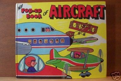 MY POP-UP BOOK OF AIRCRAFT- J. Pavlin HC 1986, Scarce Title