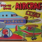 MY POP-UP BOOK OF AIRCRAFT- J. Pavlin HC 1986, Scarce Title