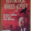 ALFRED HITCHCOCK's WORDS OF PREY, Softcover 1986, Scarce
