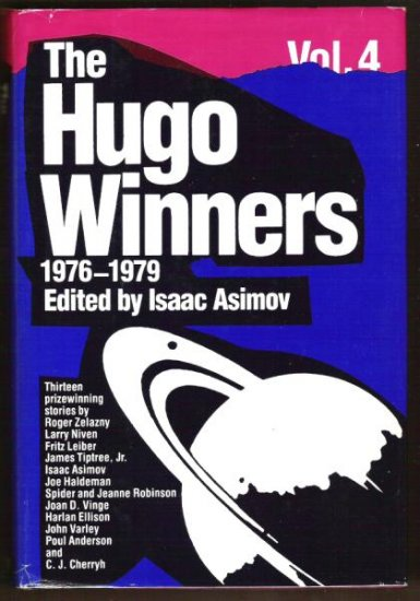 THE HUGO WINNERS, Vol. 4, 1976-1979, SciFi, Hardcover 1985