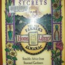 FLOWER GARDENING SECRETS, Old Farmer's Almanac, Softcover 1997