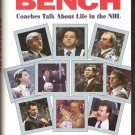 BEHIND THE BENCH by Dick Irvin, Hardcover 1st Ed. 1993, SIGNED, NHL