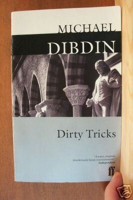 DIRTY TRICKS by Michael Dibdin, Paperback 1992, Mystery/Satire