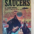 NIGHT OF THE SAUCERS by Eando Binder, Paperback 1st 1971