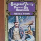 FRANCIS SELWYN Sergeant Verity Presents His Compliments, Paperback 1981
