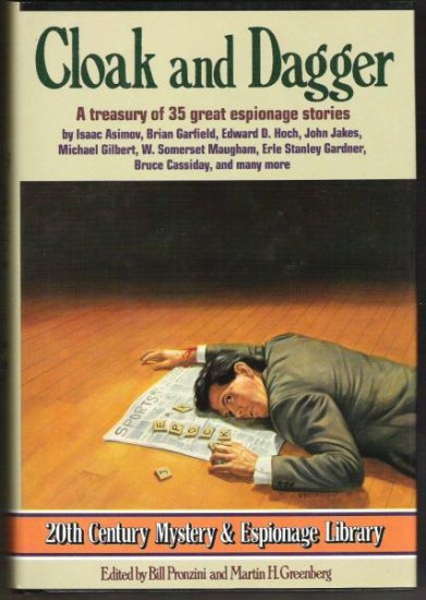 CLOAK AND DAGGER Treasury of 35 Great Espionage Stories, Hardcover 1988