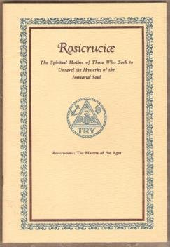 ROSICRUCIAE: The Spiritual Mother of Those Who Seek to Unravel the Mysteries...1941