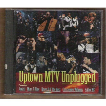 UPTOWN MTV UNPLUGGED, CD 1993 Jodeci, Mary J Blige