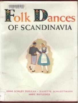 FOLK DANCES OF SCANDINAVIA, Hardcover 1948