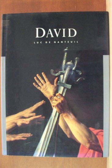 JACQUES-LOUIS DAVID by Luc de Nanteuil, Hardcover 1st Ed. 1990