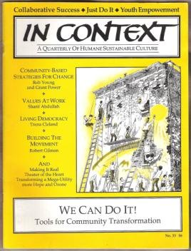 IN CONTEXT, We Can Do It, Tools for Community Transformation, No. 33