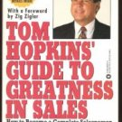 TOM HOPKINS' Guide to Greatness in Sales, Softcover