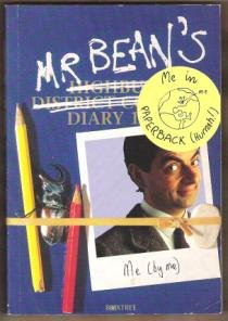 MR. BEAN'S DIARY by Rowan Atkinson, Softcover 1993