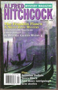 ALFRED HITCHCOCK Mystery Magazine, September 2004