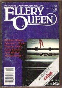 ELLERY QUEEN'S Mystery Magazine, October 1981.