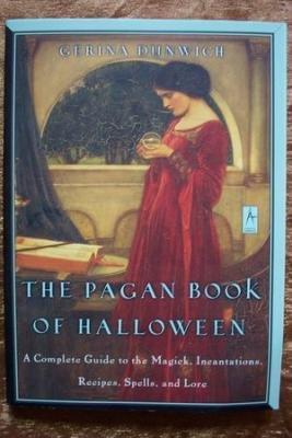 THE PAGAN BOOK OF HALLOWEEN, Gerina Dunwich, New SC 2000