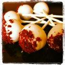 1 dozen Red Velvet cake pops