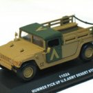 Hummer pick up U.S. Army Desert Storm 1/43 die cast model car (Rare)
