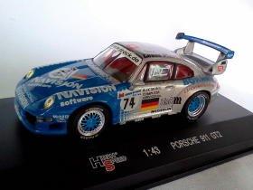 Porsche 911 GT2 #74 1/43 die cast model car