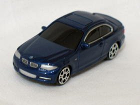 BMW 1 series coupe blue dealer special 7.5cm die cast model car (Rare)