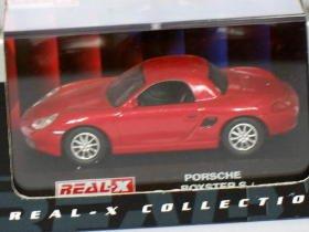 Porsche Boxster S red 1/72 die cast model car