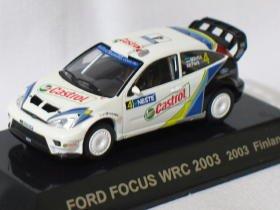 Ford Focus WRC 2003 Finland #4 1/64 die cast model car
