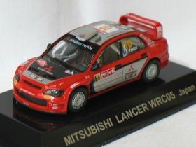 Mitsubishi Lancer WRC05 Japan #10 1/64 die cast model car