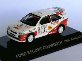 Ford Escort Cosworth 1994 Acropolis #9 1/64 die cast model car